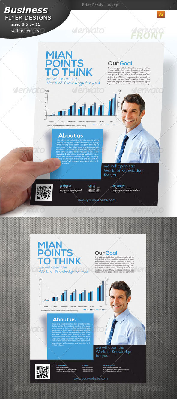 GraphicRiver Business Flyer 4948845