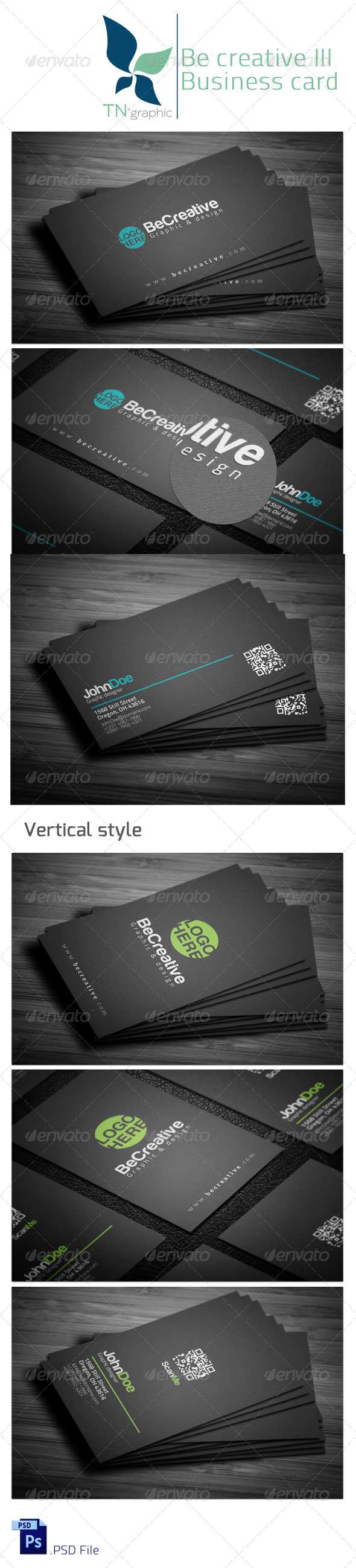 GraphicRiver Be creative III 5085798