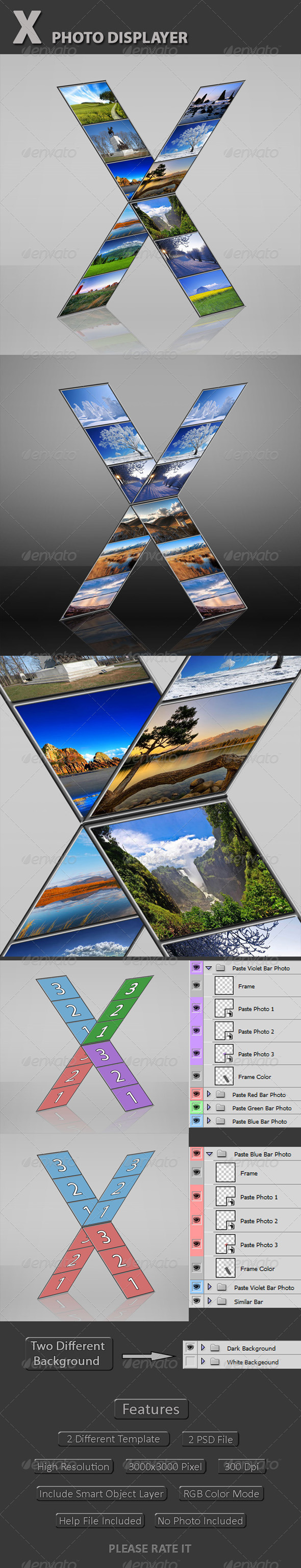 GraphicRiver X Photo Displayer 5085841