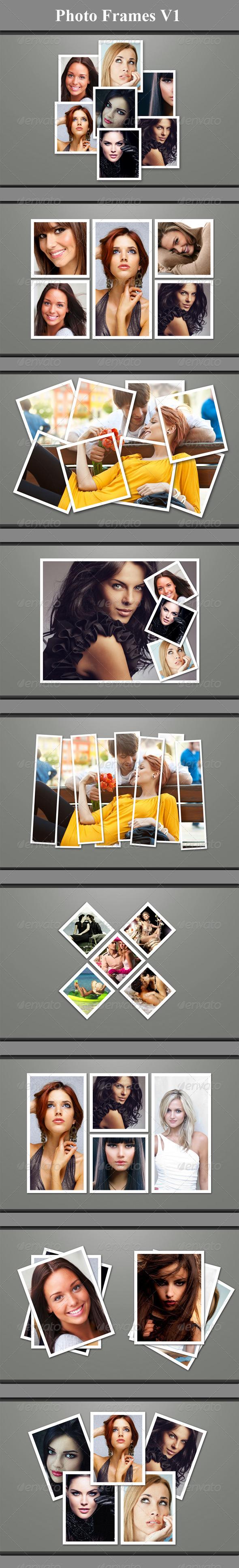 GraphicRiver Photo Frames V1 5086007