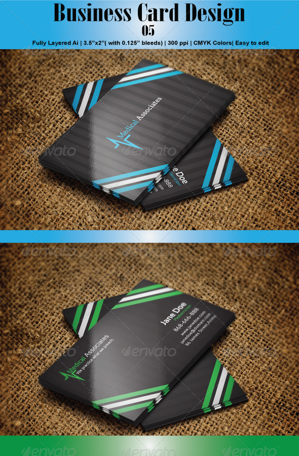 GraphicRiver Business Card 05 4914076