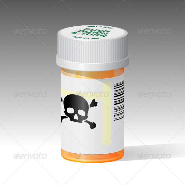 GraphicRiver Deadly Prescription Drugs 5086283