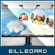 Corporate Billboard - Kid's Love - GraphicRiver Item for Sale