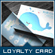 Corporate Loyalty Card - Lovely Whale - GraphicRiver Item for Sale