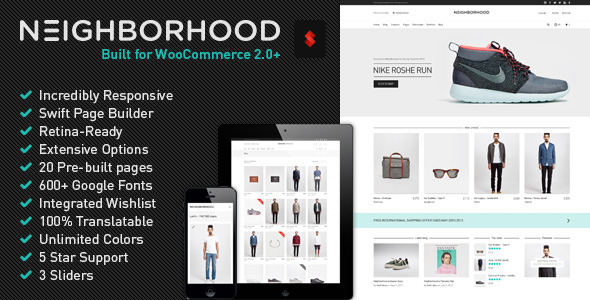 ThemeForest Neighborhood Responsive Multi-Purpose Shop Theme 5086341