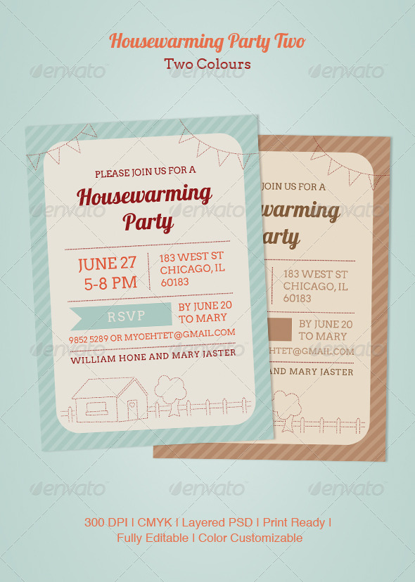 GraphicRiver Housewarming Party Two 4997806
