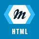 Link toMonogram - responsive html5 template