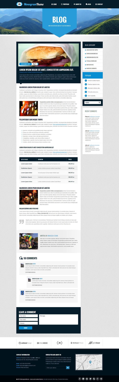 Monogram - Responsive HTML5 Template