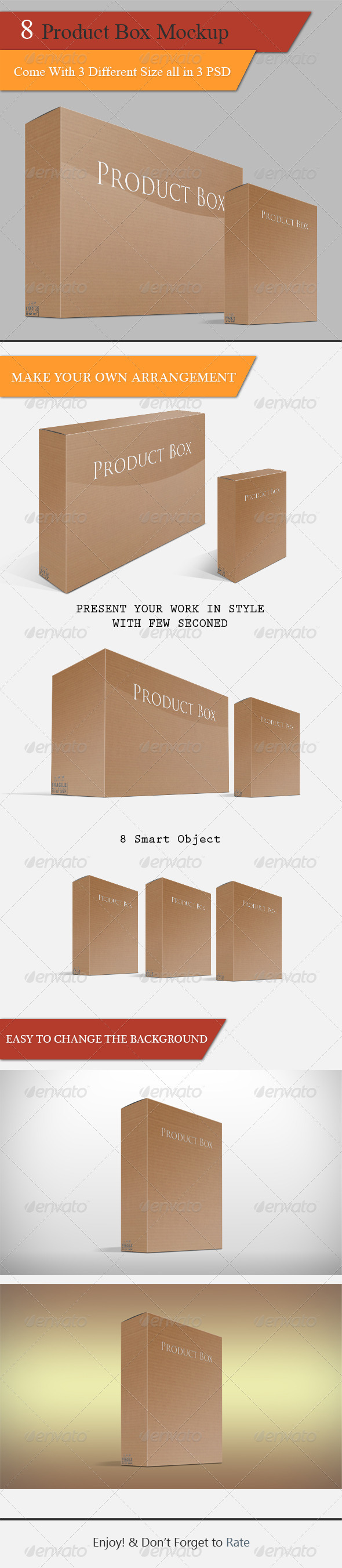 GraphicRiver Product Box Mock-up 5088189