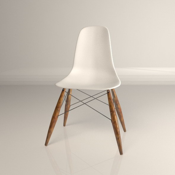 3DOcean Modern Vintage Chair 5088212