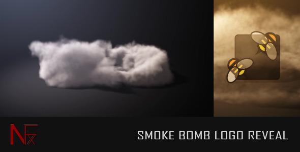 Smoke Bomb Logo Reveal