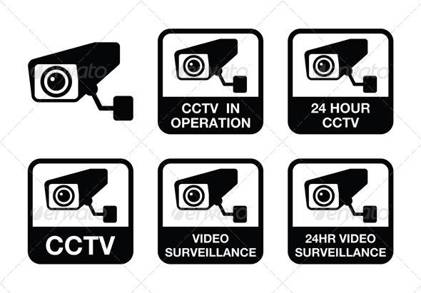 GraphicRiver Video Surveillance Icons Set 5088919