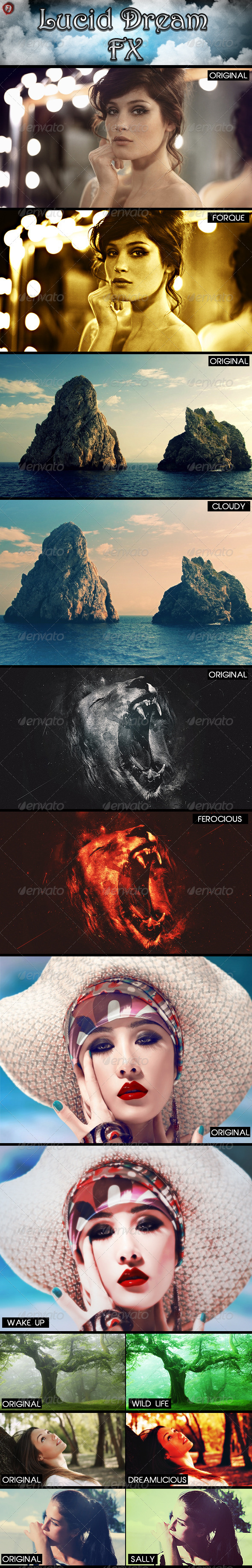 GraphicRiver Lucid Dream FX 5088976