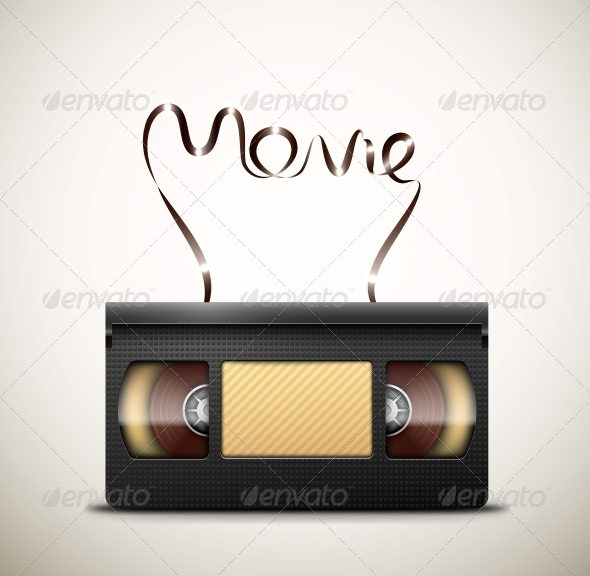 GraphicRiver Movie on Videotape 5089024