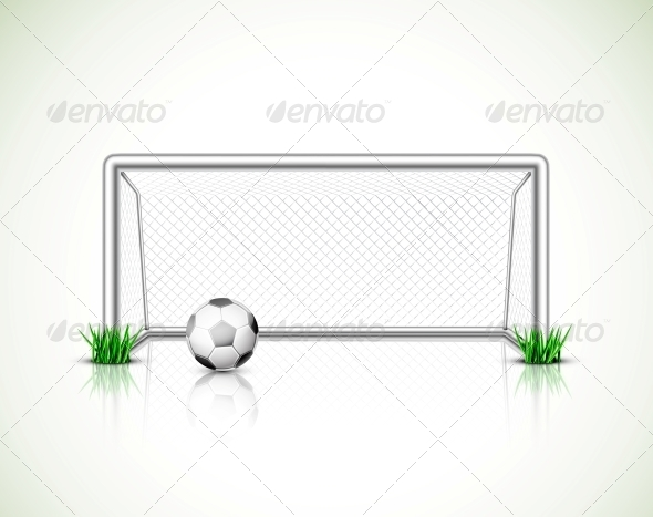 GraphicRiver Soccer Goal and Ball 5089057