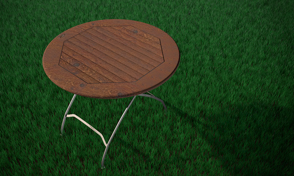 High Res Garden Table