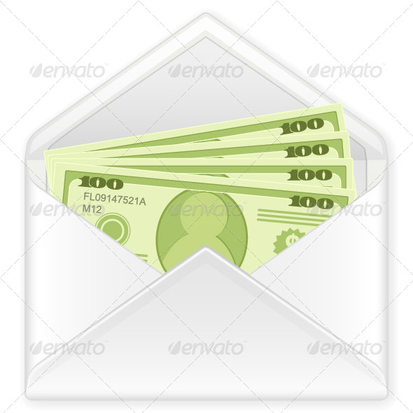 GraphicRiver Envelope with Banknotes 5089252