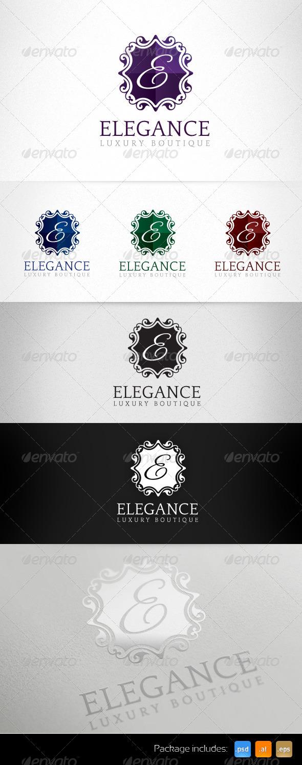 GraphicRiver Elegance Luxury Boutique Exclusive Logo 5091727