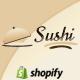 Sushi - Gıda ve Restoran Shopify Tema - Shopify e-Ticaret
