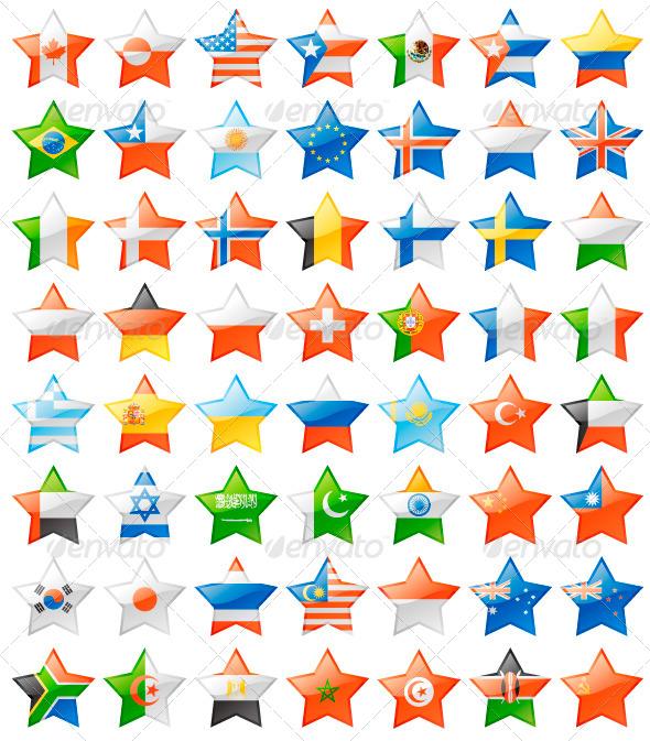 GraphicRiver Flag Stars 5091809