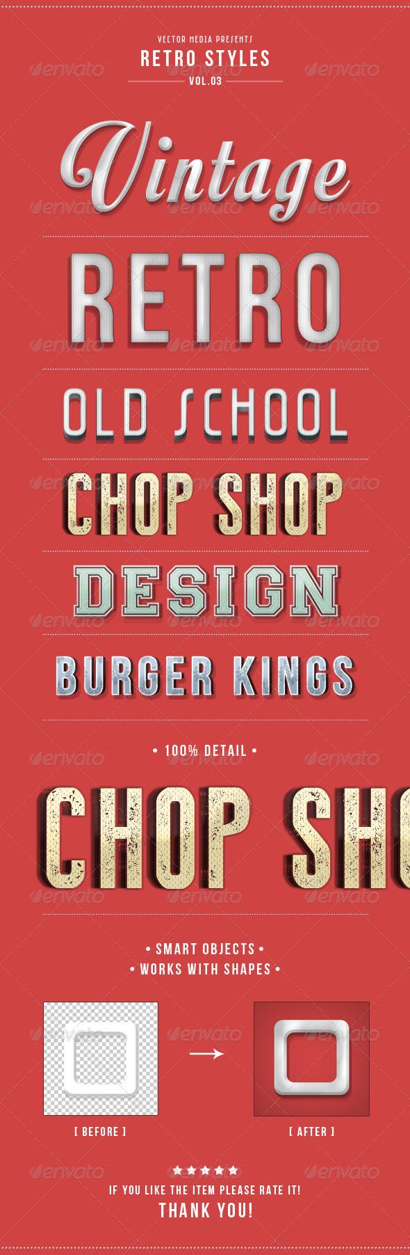 GraphicRiver Retro Styles Vol.3 5075018