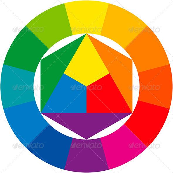 GraphicRiver Color Wheel 5092145