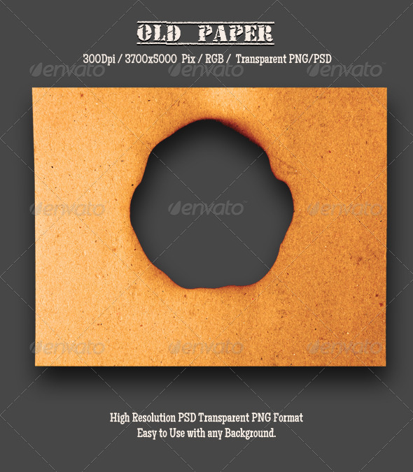 GraphicRiver Burnt Old Paper 9 4788536