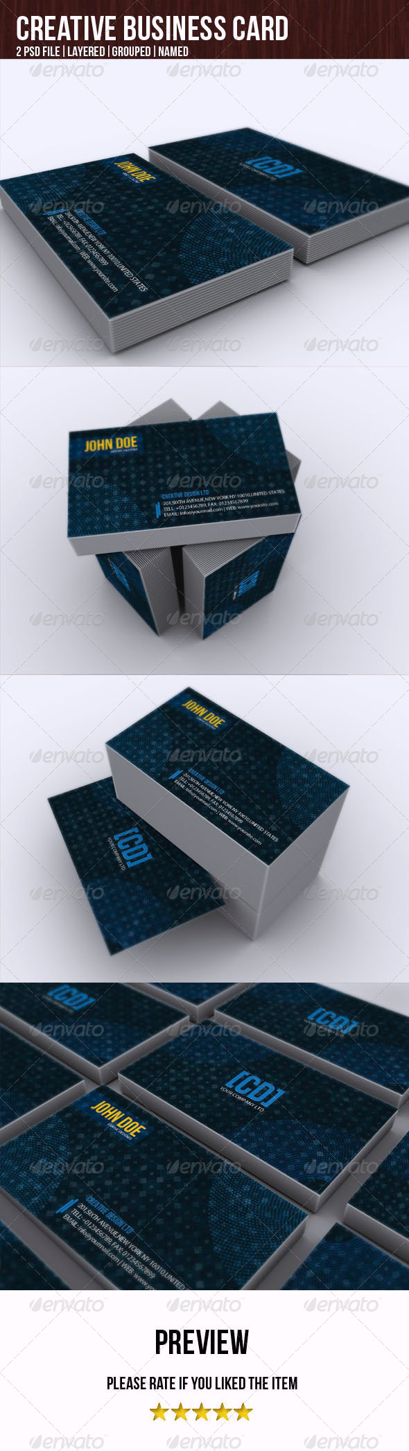 GraphicRiver Creative Design Business Card 4981712