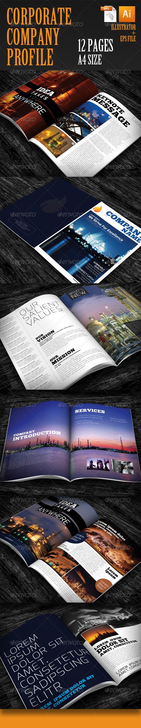 GraphicRiver Corporate Company Profile 4804049
