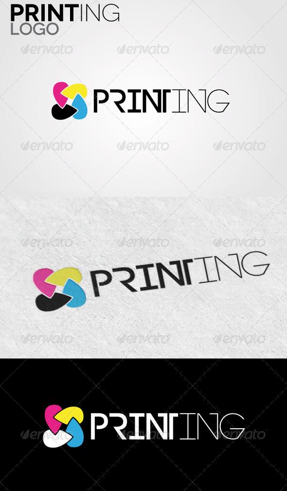 GraphicRiver Printing Logo 5092726