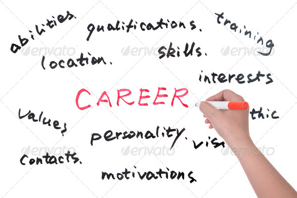 Career words - Stock Photo - Images