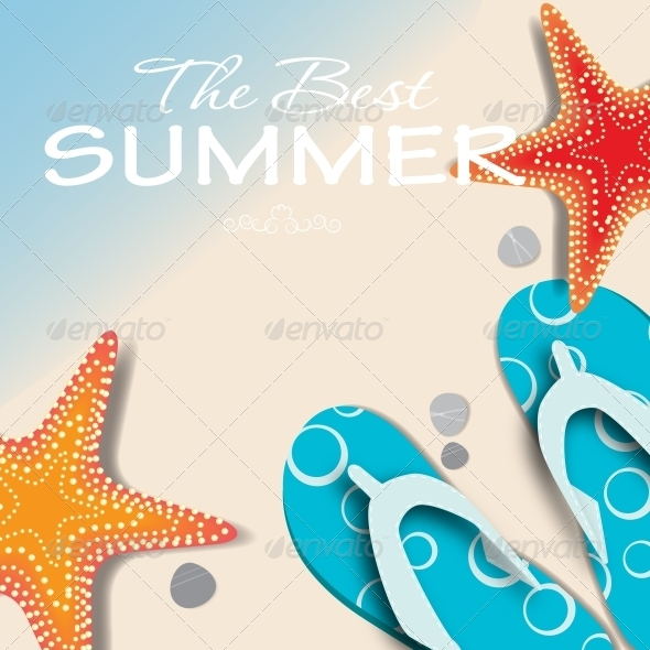 GraphicRiver Summer Holidays Poster 5092833