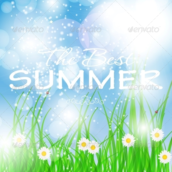 GraphicRiver Summer Holidays Poster Vector Illustration 5093225