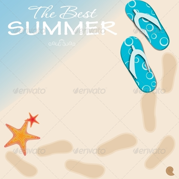 GraphicRiver Summer Holidays Poster Vector Illustration 5093259