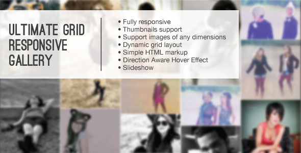 CodeCanyon Ultimate Grid Responsive Gallery 5093275