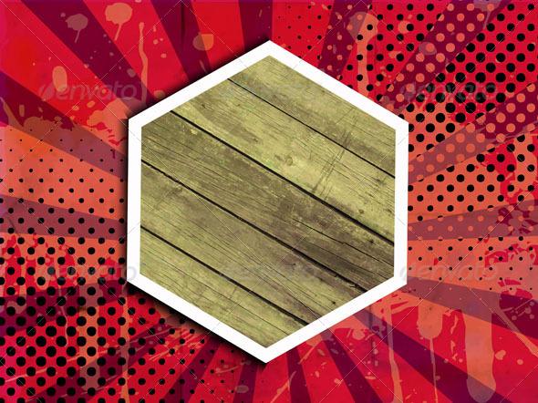 GraphicRiver Vintage Wooden Plaque 5093642