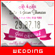 Wedding Announcement - Just Married - GraphicRiver Item for Sale