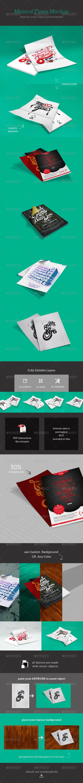 GraphicRiver Minimal Flyer Mockups 5094486
