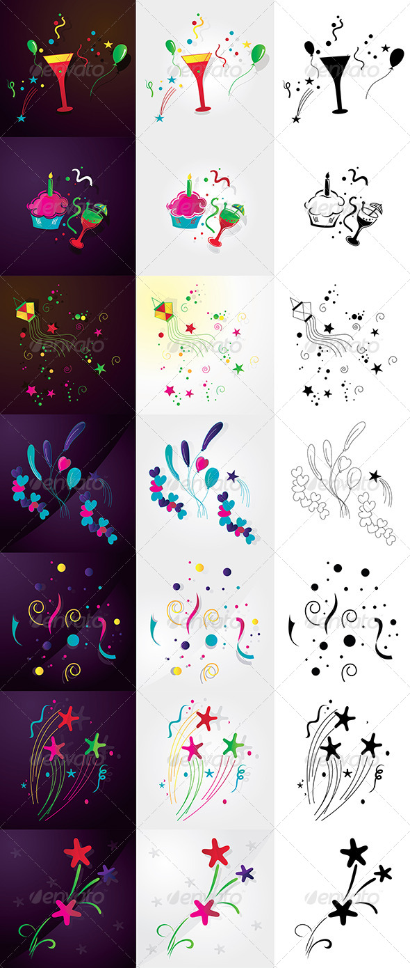 GraphicRiver Decorative Elements 5094891