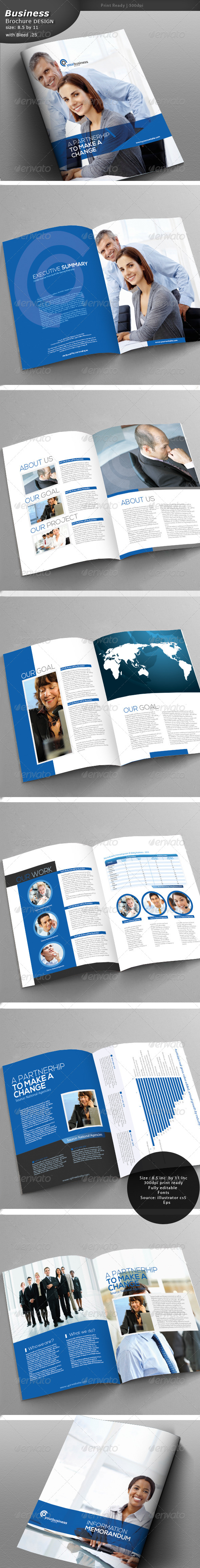 GraphicRiver Business Brochure 5094894