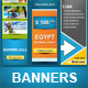Summer Banners Bundle - GraphicRiver Item for Sale