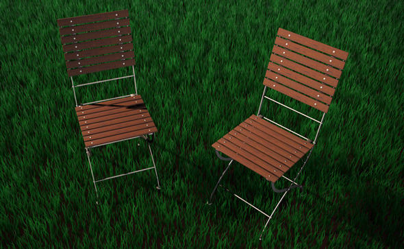 3DOcean High Detailed Garden Chair 5095919