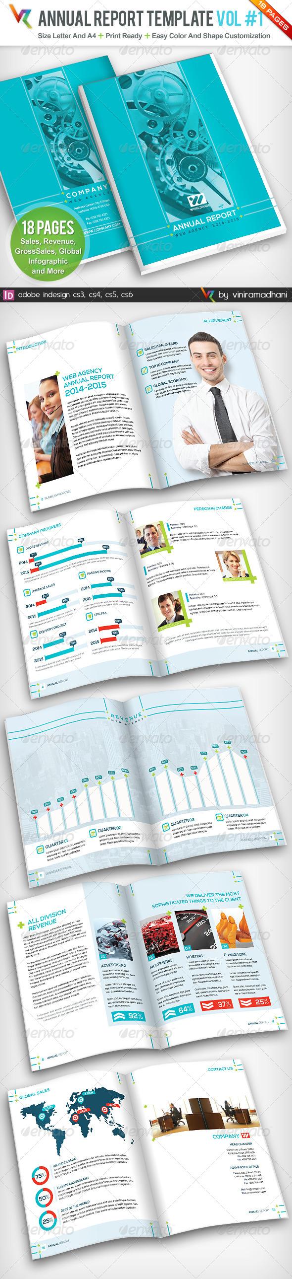 GraphicRiver Annual Report Template Volume 1 5095924