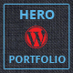 Herói - WordPress Portfolio - WorldWideScripts.net artigo para a venda