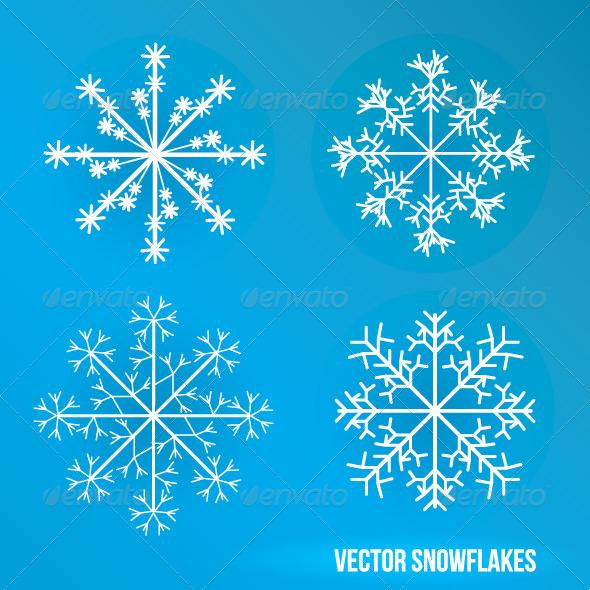 GraphicRiver Snowflakes 5097089