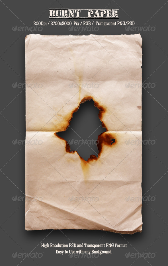 GraphicRiver Burnt Old Paper 7 4788484