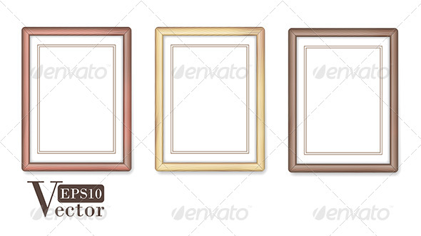 GraphicRiver Wooden Frames 5097917