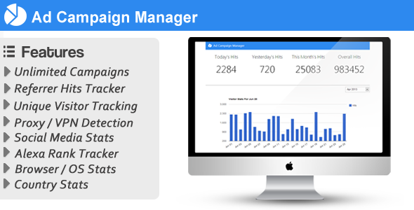 Ad Campaign Manager - WorldWideScripts.net objet en vente