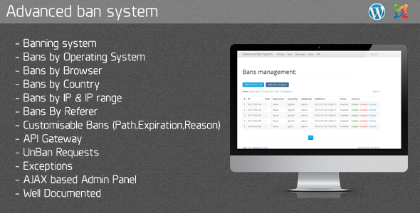 CodeCanyon ABS Advanced Ban System 5100121