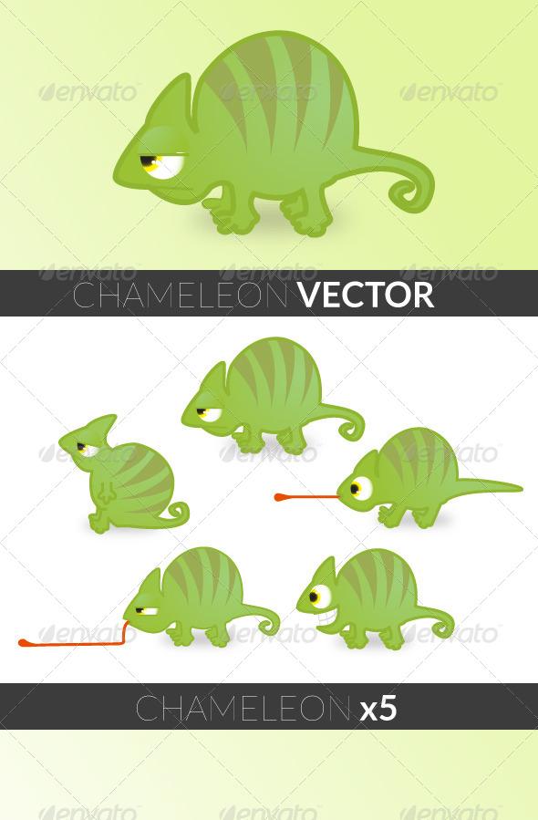 GraphicRiver Chameleon 5080242